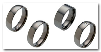 Black Gold Rings