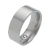 The Flat Classic Titanium Wedding Ring