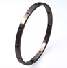 Black Titanium Bangle - Oriel Bangle