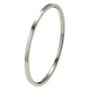 Titanium Bangle - Flat