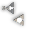 Titanium Earrings Tension Triangle