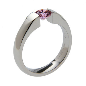 Titanium Ring Sateen